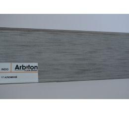 17 Плинтус INDO Arbiton Дуб Алюминий (2,5м.)